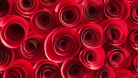 Paper cut decoration abstract background close up.  stock video footage