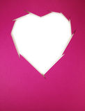 Paper cut heart Stock Photo