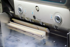 Paper cut machine Royalty Free Stock Image
