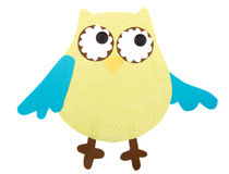 Paper cut out owl Stock Image