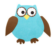 A paper cut out owl Royalty Free Stock Image