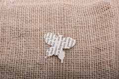 Paper cut out in shape of a butterfly. Paper is  cut out in shape of a butterfly Royalty Free Stock Photos