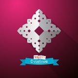 Paper Cut Snowflake Royalty Free Stock Photo