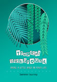 Paper Cut Tropical5-01 Royalty Free Stock Image
