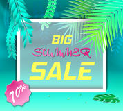 Paper Cut Tropical5-01 Royalty Free Stock Images
