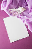 Paper cut on vintage background Royalty Free Stock Photo