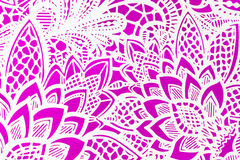 Paper cutout pattern Royalty Free Stock Images
