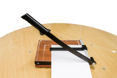 The paper cutter Stock Photos