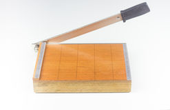 Paper cutter Stock Image