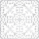 Paper cutting illustration Stock Images