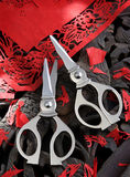 Paper-cutting scissors Stock Image