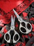 Paper-cutting scissors Stock Image