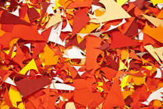 Paper cuttings background color texture Stock Photography