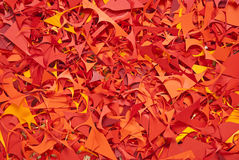 Paper cuttings background color texture Royalty Free Stock Photography