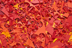 Paper cuttings background color texture Stock Photo
