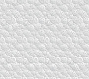 Paper 3D OM seamless pattern Royalty Free Stock Photo