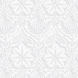 Paper Damask Pattern Royalty Free Stock Images