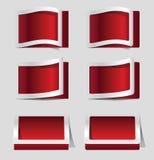 Paper design elements Stock Photos