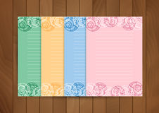 Paper design template Royalty Free Stock Images
