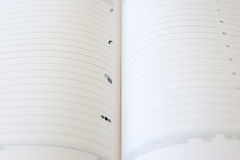 Paper diary Royalty Free Stock Images