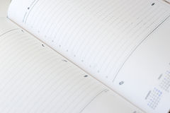 Paper diary Stock Photo