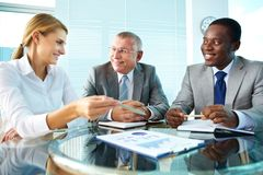 Paper discussion Stock Image