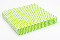 Paper disposable napkins Serving Stock Image