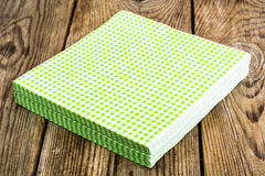 Paper disposable napkins Serving Royalty Free Stock Images