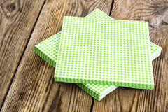 Paper disposable napkins Serving Stock Images