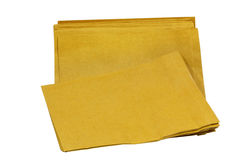 Paper Documents Pouch. On white Background Royalty Free Stock Photography