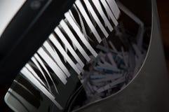 paper dokumentförstörare Royaltyfria Bilder