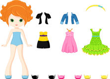 Paper doll Royalty Free Stock Photos