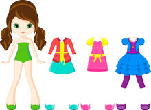 Paper doll Stock Photos