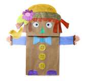 Paper doll Royalty Free Stock Photography