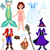 Paper doll Royalty Free Stock Image
