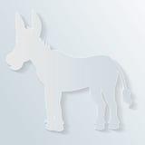 Paper donkey Royalty Free Stock Photos