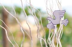 Paper Dove Stock Image