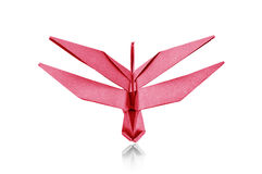 Paper Dragonfly. Stock Photography