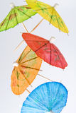 Paper Drink Umbrellas Royalty Free Stock Photography