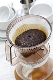 Paper drip coffee Royalty Free Stock Photos