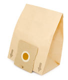 Paper dust bag for vacuum cleaner Stock Photography