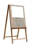 Paper on a easel Royalty Free Stock Images