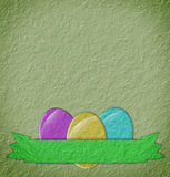 Paper easter Stock Images
