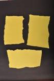 Paper element för kort arkivbilder