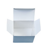 Paper empty box. Royalty Free Stock Photography