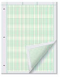 Paper for engineering calculations Royalty Free Stock Photography