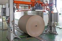 Paper enterprise production line Royalty Free Stock Photos