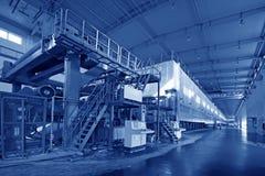 Paper enterprises production Royalty Free Stock Images