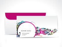 Paper envelope. Isolated on white background, vector illustration royalty free illustration