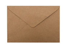 Paper Envelope isolated stock image